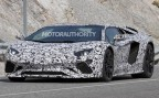 Lamborghini Aventador 2018 lộ diện trên đường thử